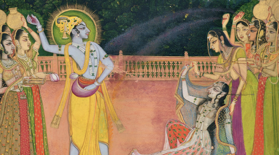 """Gems of Rajput Painting"" 