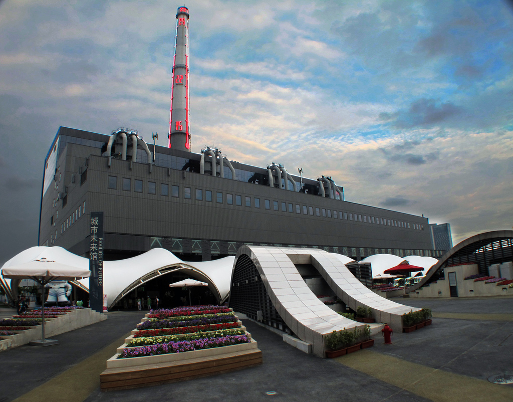 The former Nanshi Power Plant, future venue of the Shanghai Biennale