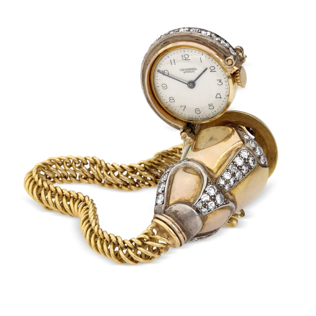 Wristwatch from the estate of the late Maharani Padmavati Devi Gaekwar of Baroda.