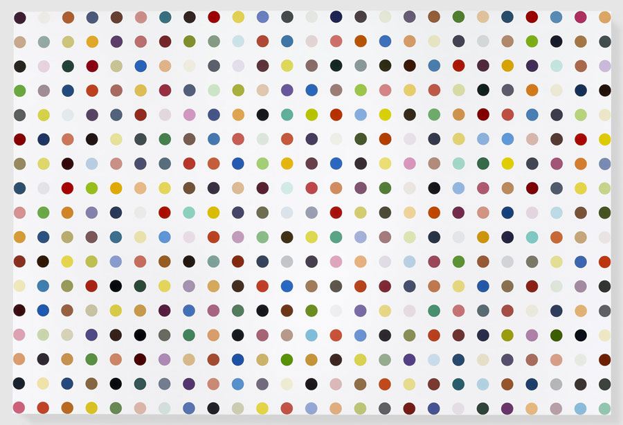 Damien Hirst, Isonicotinic Acid Ethyl Ester, 2010–11.