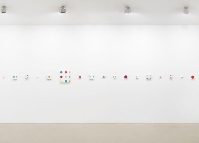 Damien Hirst, Installation view at Gagosian Gallery, London.