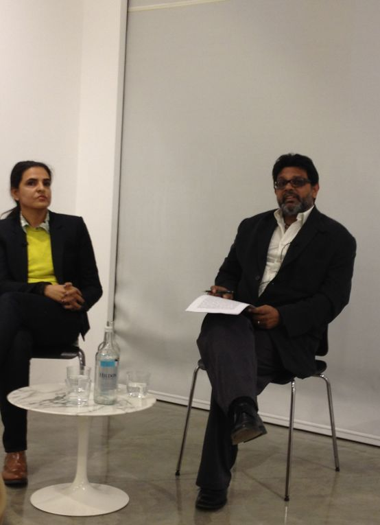 Bharti Kher & Shaheen Merali in conversation at the Parasol Unit Foundation for Contemporary Art, London
