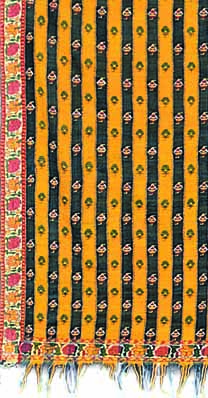 Qatraaz or striped shawls were in high demand in Persia, (TAPI COLLECTION)