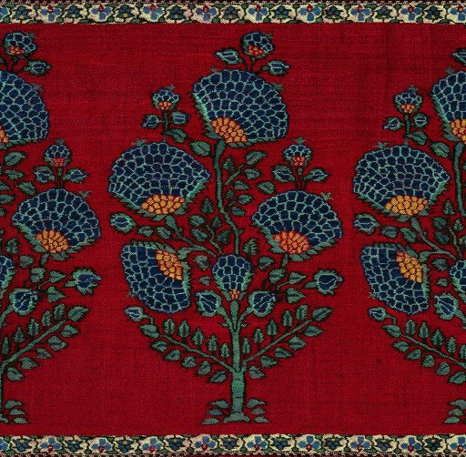 Palledar Shawl, c. 1720 (detail) (TAPI COLLECTION)