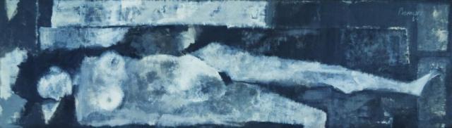 Grey Nude | Akbar Padamsee 1960