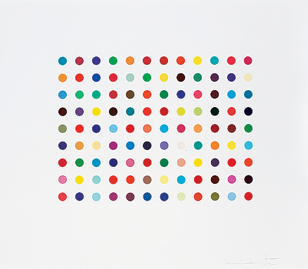 Damien Hirst, Doxylamine From Dali to Damien Hirst, The Story by Saffronart