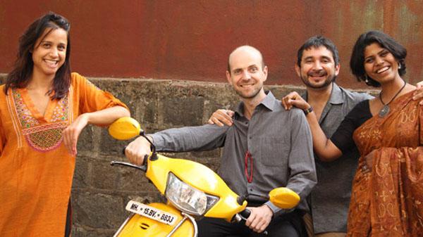 Aisha Dasgupta, Neville Mars, Hector Zamora, Trupti Amritwar Vaitla.Image Coutesy: http://www.bmwguggenheimlab.org/