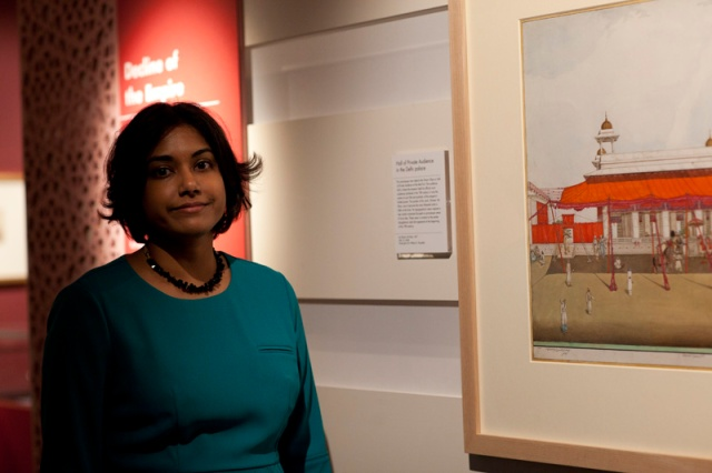 Malini Roy, Curator of Mughal India: Art, Culture and Empire, British Library, London