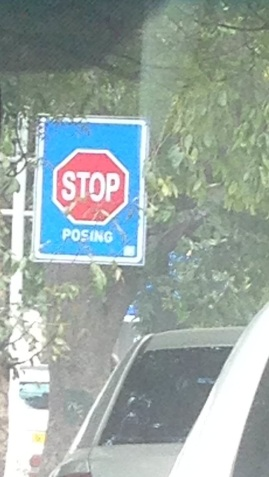 Street Sign, Daku, New Delhi, 2013