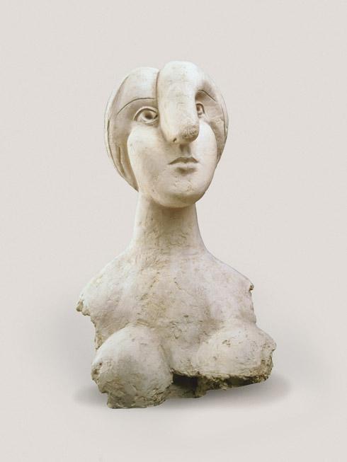 Pablo Picasso, Bust of a Woman (Marie-Thérèse) (Buste de femme ...