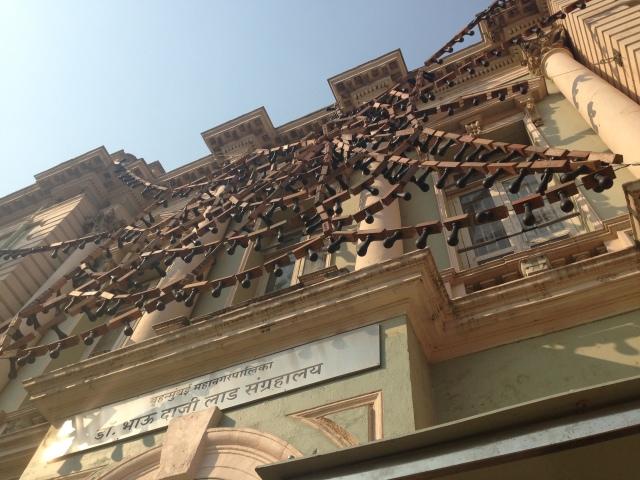 Reena Kallat's installation at Dr. Bhau Daji Lad Museum