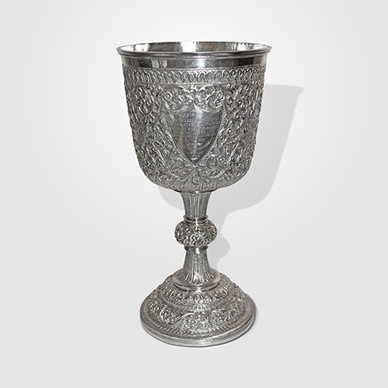 Cutch Silver Large Goblet c. 1890. http://www.saffronart.com/fixedjewelry/PieceDetails.aspx?iid=35981&a=
