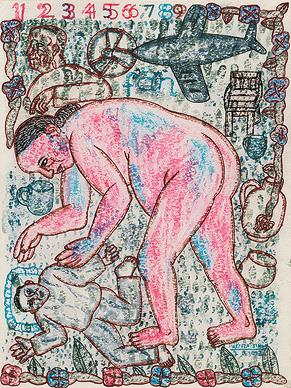 Untitled, Arpita Singh, 2002