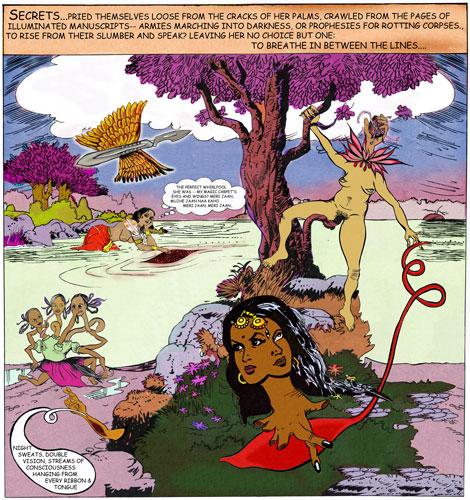 Secrets, Chitra Ganesh, 2007