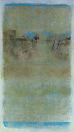 "V S Gaitonde, Untitled, Oil on canvas 1968, Image Credit:<a href=""http://www.saffronart.com/fixed/ItemDetails.aspx?iid=31298&a=V%20S%20Gaitonde&pt=2&eid=3435"""
