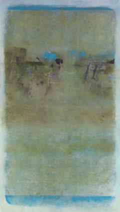 "V S Gaitonde, Untitled, Oil on canvas 1968, Image Credit:<a href=""http://www.saffronart.com/fixed/ItemDetails.aspx?iid=31298&a=V%20S%20Gaitonde&pt=2&eid=3435"""