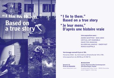 """I Lie to Them"", Based on a True Story"