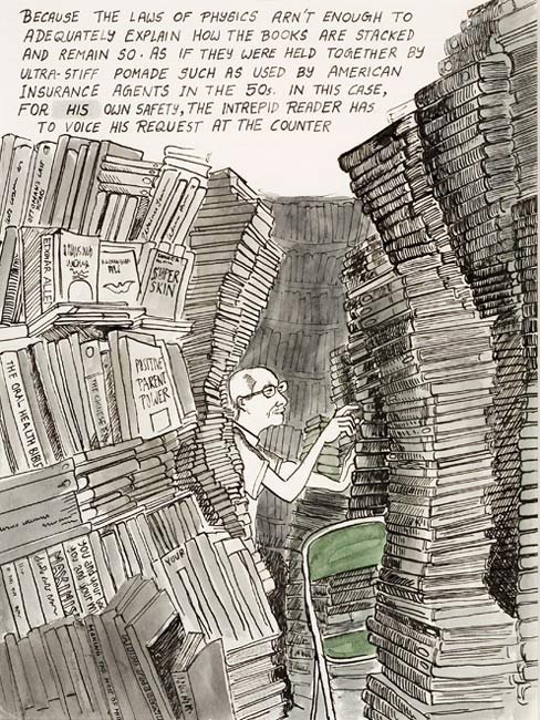 Sarnath Banerjee, from Tyranny of Cataloguing, 2008. Deutsche Bank Collection