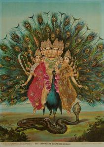 Raja Ravi Varma, Shri Shanmukha Subramaniaswamy