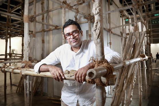 Jitish Kallat at Art Basel Hong Kong