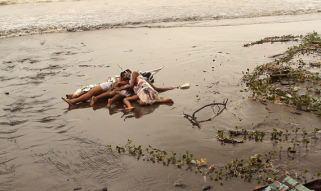 Tejal Shah, Between the Waves, 2012, Video Still from Channel 1