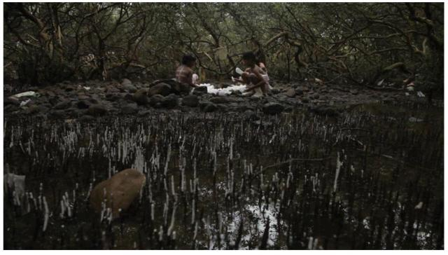 Tejal Shah, Between the Waves, 2012, Video Still from Channel I