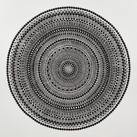 Bharti Kher, Square a Circle 3, 2013