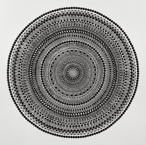 Bharti Kher, Square a Circle 3, 2013