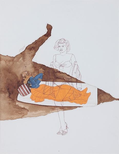 Fragmentation 7, Waseem Ahmed, Lot 140, Saffronart Autumn Art Auction