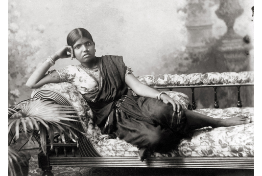 Reclining Lady, 1870. Image Credit: http://www.tasveerarts.com/group-shows/subjects-spaces/view-individual-images/?p=52