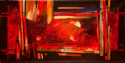 Peregrination of Colour, Sujata Bajaj. Image Credit: http://www.artalivegallery.com/artists.php?page=3&cat=artists&scat=42&show_display=&show_work=true#3