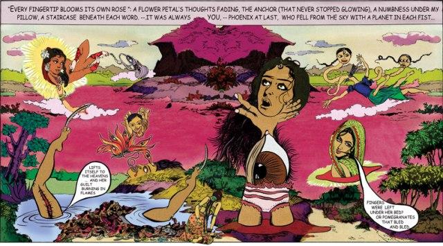 Chitra Ganesh, Fingerprints, 2007