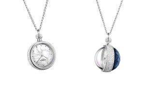 Hermès Pendentif Boule pendant watch, shortlisted for the Ladies' Watch award.