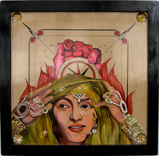 Chitra Ganesh, Madhubala, 2007