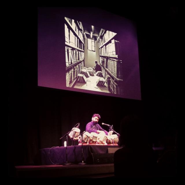 Talvin Singh in performance. Image Credit: Ambika Rajgopal