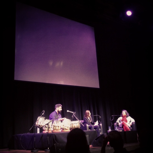 Talvin Singh, Stephanie Rosenthal and Daynita Singh in conversation. Image Credit: Ambika Rajgopal