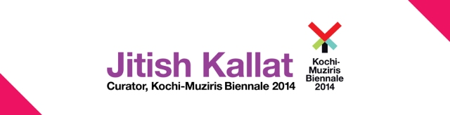 Jitish Kallat for Kochi-Muziris Biennale 2014