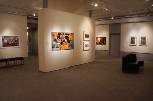 "Image courtesy Benton Museum. Convergence: Contemporary Art from India and the Diaspora"", 2013, installation view.  William Benton Museum of Art, University of Connecticut."