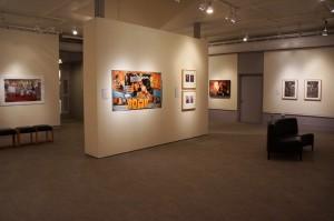 "Image courtesy Benton Museum. Convergence: Contemporary Art from India and the Diaspora"", 2013, installation view.  William Benton Museum of Art, University of Connecticut."