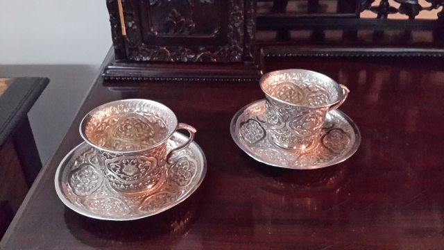 Kutch silver tea cups. Yay or nay?