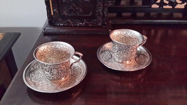 Kutch silver tea cups. Yay or nay?