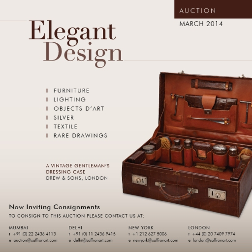 "Upcoming Saffronart Sale ""Elegant Design"""