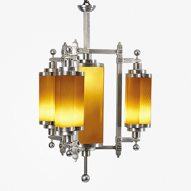 A MAGNIFICENT AND RARE ART DECO CHANDELIER http://www.saffronart.com/customauctions/AuctionResults.aspx?eid=3658