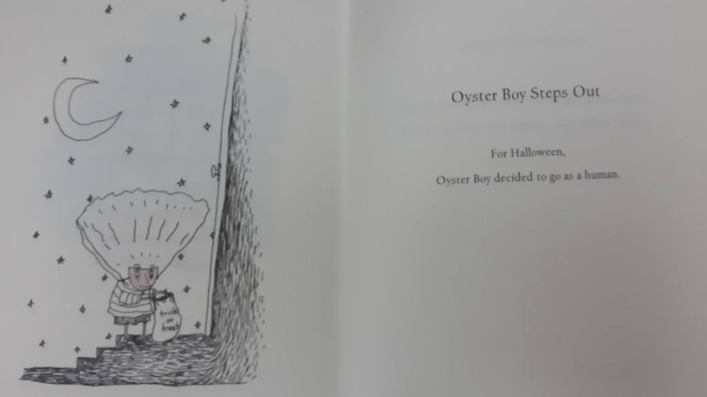 """Oyster Boy Steps Out"", pp.112-113"