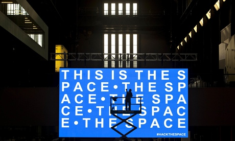"""Hack the Space"" at the Tate Modern Image Credit: David Parry/PA, theguardian.com"