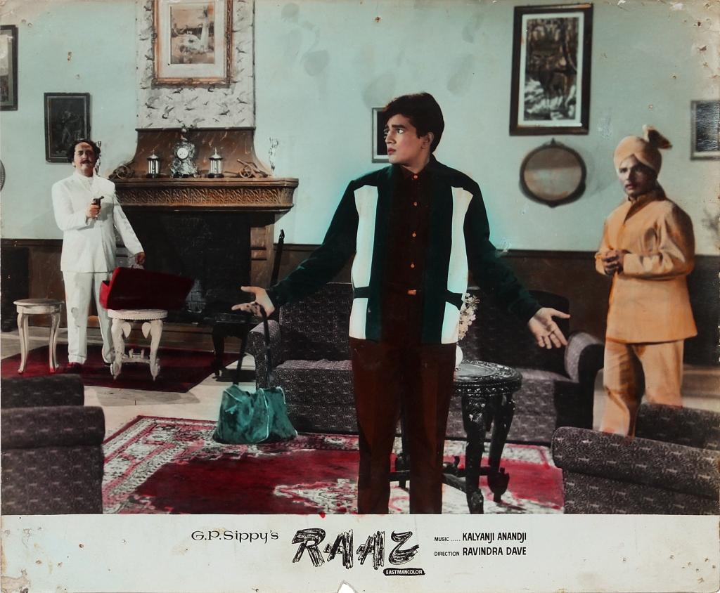 A lobby card of Raaz (1967)