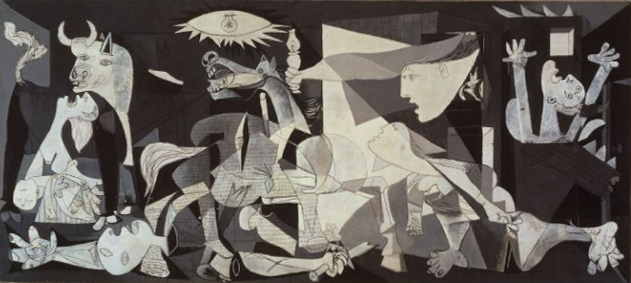 Picasso's 'Guernica' (1937)   Source: http://http://en.wikipedia.org/