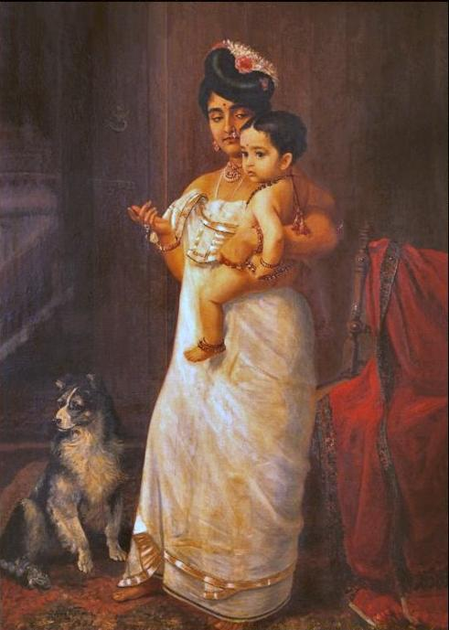 There Comes Papa (1893) Photo Courtesy: http://www.indiancentury.com/varma.htm
