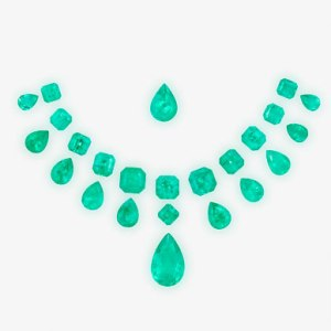A Suite of Unmounted Emeralds