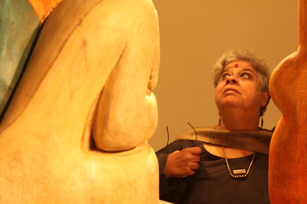 A photo of Mrinalini Mukherji by Manisha Gera Baswani